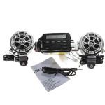 12V Motorcycle Sound Audio System Handlebar FM Radio Motorcycle