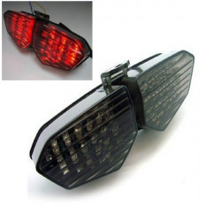 12V Rök LED Tail Signal Light för 03 04 05 Yamaha YZF R6 R6S