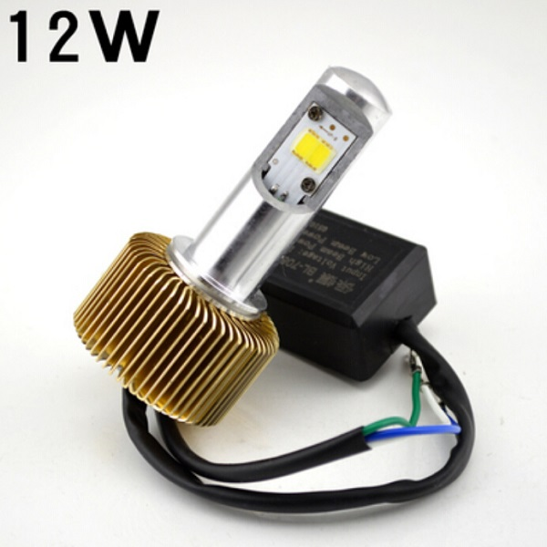 12W Motorcycle LED lights super bright headlights 8V-85V Motorcycle