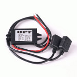 15W Dual USB Power Adapter Converter Car Charger For Phone Motorcycle