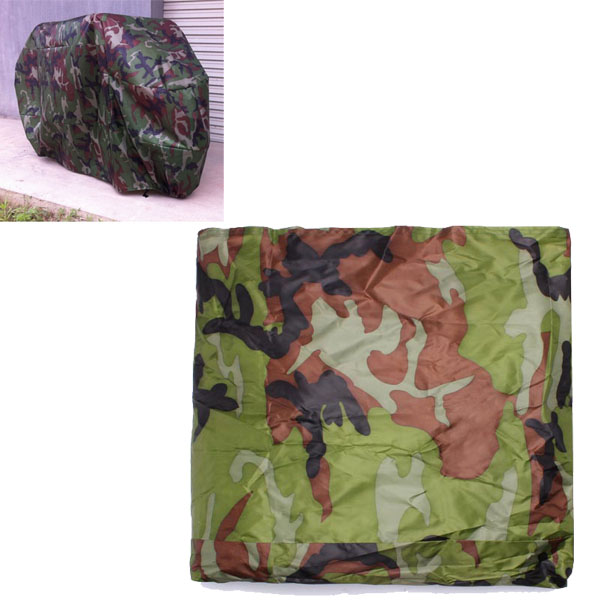 180t Camouflage Motorcycle Cover Waterproof Sunscreen Motorcycle