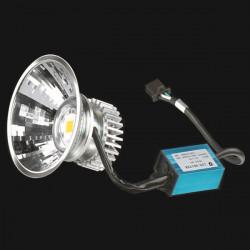 18W Motorcykel LED 800LM High Beam 1800LM Halvljus Ljuslampa