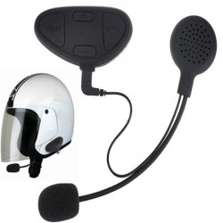1pair Motorcycle Helmet Intercom Headset with BHM1 Bluetooth Function