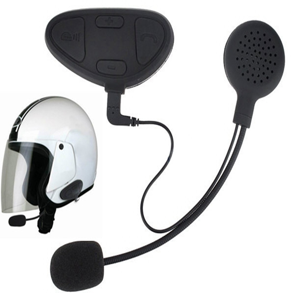 1pair Motorcycle Helmet Intercom Headset with BHM1 Bluetooth Function Motorcycle