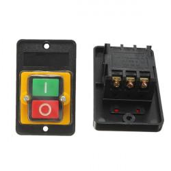 220V 10A Vattentät ON / OFF Tryckknapp Drill Switch Motor för KAO-5