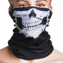 2st Skull Multi Purpose Head Wear Mössa Halsduk Ansiktsmask Ansiktsskydd Munskydd Cap