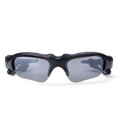 2 in 1 Motorradsport Auto Sport Sonnenbrille MP3 Player Kopfhörer