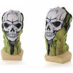 2pcs Skull CS Headscarf Cycling Face Guard Masks Scarves Motorcycle
