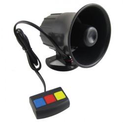 30W Motorcykel Bil Alarm Tre Sound Horn