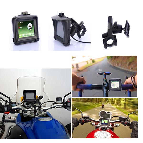 3.5inch CE6.0 Waterproof Motorcycle Gps Navigator With Bluetooth Motorcycle
