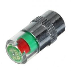 36 PSI Tire Pressure Indicator Valve Stem Cap LED Indicator Eye Alert