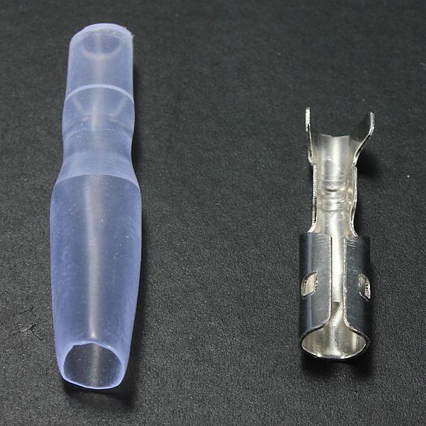 3,9 Mm Kvinna Bullet Terminal Kontakt Isolator för Motorcykel Car Motorcykel