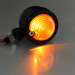 4x Bullet Turn Lights for Harley Davidson Softail Sportster