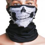 5Pcs Skull Multi Purpose Head Wear Hat Scarf Face Mask Cap Motorcycle