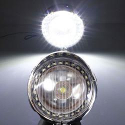 5W Motorcykel Angel Eye Tågelygte Forlygtepærer Lampe til Harley