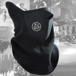 5x Motorcycle Neck Ski Snowboard Bike Warm Face Mask Black