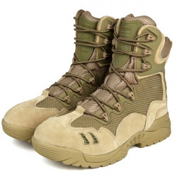 6Inch Free Soldier Tactical Boots Military Desert Combat Boots Shoes