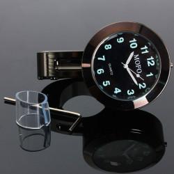 7/8 & 1 Universal Motorrad Lenkerhalterung Wasserdichte Uhr