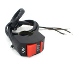 7/8 Motorcycle Handlebar Accident Hazard Light Switch ON OFF Button Motorcycle