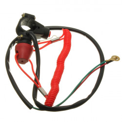 7/8inch Motorcycle ATV Quad Engine Emergency Kill Switch Tether