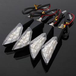 7 LED Bernstein Universalmotorrad Blinker Licht Lampe