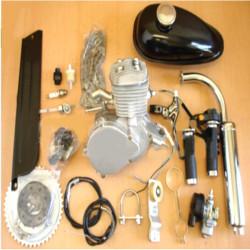 80cc 2 Zyklus Motorrad Schalldämpfer motorisierte Fahrrad Motor Zubehör Set