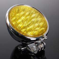 Black Chrome Motorcycle LED Headlight Lamp For Harley Davison