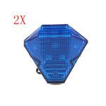 Blue Style A 12v Motorcycle Led Brake Light Flashing Super Bright Motorcycle