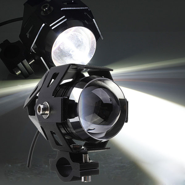 CREE U5 Motorcycle LED Headlight Waterproof High Power Spot Light Motorcycle