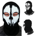 Call Of Duty Cosplay Black Ghost Skull Motorcycle Ski Face Mask Motorcycle