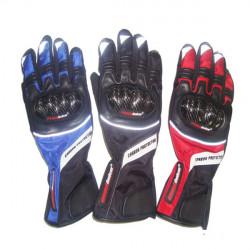 Carbon Fiber Motorcycle Winter Warm Windproof Gloves