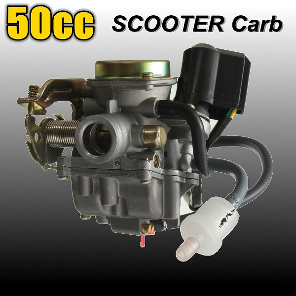 Carburetor GY6 50cc Scooter Moped For Qingqi QM50QT Vento Baotian Motorcycle