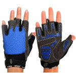 Cycling Gloves Male and Female Breathable Antiskid Half Finger Gloves Motorcycle