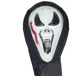 Dance Parterna Halloween Masker Scream Centipede Face Ghost Masker