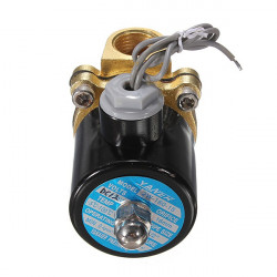Electric Solenoid Water Air Valve Diesel Gas 4 Train Horn Solid Coil