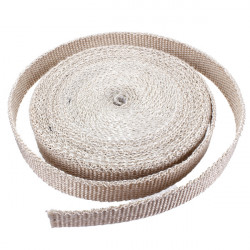 Exhaust Manifold Header Downpipe Heat Wrap Front Pipe 1800°F White