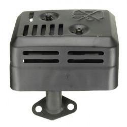 Avgas Ljuddämpare Med Värmesköld för Honda GX160 200 5,5 6,5 HP