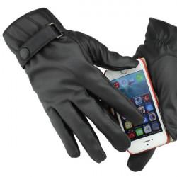 Vollfinger Motorradfahr Touch Screen warme Handschuhe