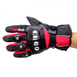 Full Finger Safety Bike Motorcycle Racing Gloves for Pro-biker HX-04