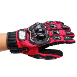 Full Finger Safety Bike Motorcycle Racing Gloves for Pro-biker MCS-01B