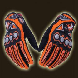 Vollfinger Sicherheit Fahrrad Motorrad Racing Handschuhe für Pro Radfahrer MCS23