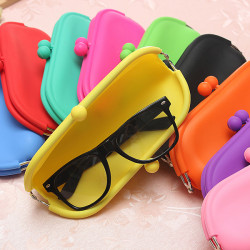 Goggle Glasses Soft Cover Bag Case Silicone Pouch