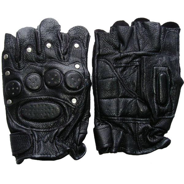 Halv Finger Handsker Fighting Field Rraining Beskyttende Handske Motorcykel / MC