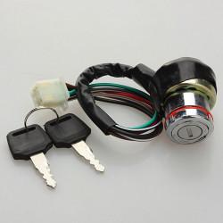 Ignition Key Switch 6 Wire for Kazuma Falcon 50cc-125c ATV Go Kart