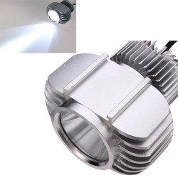 LED100 US CREE U2 Chip 10W Motorrad Scheinwerfer Lampen Hallo / Lo Strahl