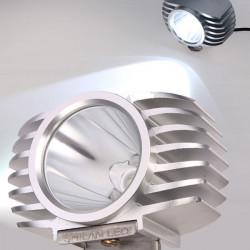 LED10 US CREE U2 Chip 10W Motorcykel Strålkastare Motor Lampor Hi / Lo Beam