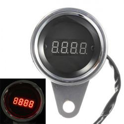 LED Motorcykel Digital Varvräknare Tacho Hastighetsmätare Varvräknare