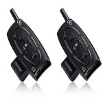 MP3 Ski Hjälm Intercom Headset Med Bluetooth-funktion Motorcykel