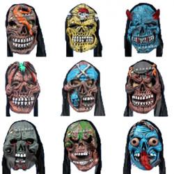 Masquerade Party Rolig Teaser Maskerar Halloween Skräck Scary Mask