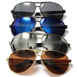 Männer Aviator Reitsportbrillen polarisierten Sonnenbrillen